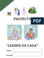 """PROYECTO """"LEEMOS EN CASA"""""""