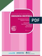 Manual Breve Emergencia ObstManual breve de emergencias obstetricas 2013