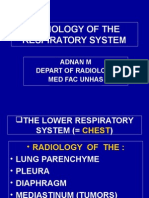Radiology of the Respiratory System