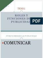 Roles y FuncionesPUBLICIDAD