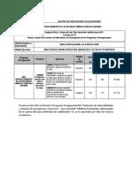 Plan 13218 2014 Indicadores de Desempeño