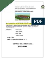 INFORME-REQUERIMIENTOS DE LAS INSTALACIONES AGROPECUARIAS-GRUPO 1.docx