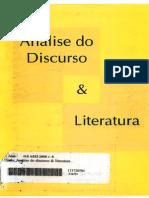 Análise Do Discurso & Literatura (1)