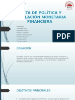 Junta de Política y Regulación Monetaria Financiera