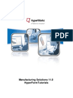Manufacturing Solutions 11.0 HyperForm Tutorials