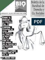 Boletín de la Facultad de Derecho y Ciencias Sociales #1