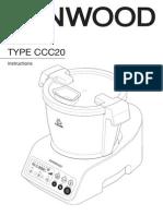 Kenwood KCook Multi Cooker CCC201WH User Manual