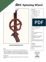 Dodec Spinning Wheel Brochure