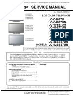 Sharp Lcc4067u Lcc4067un Lcc4677un Lcc5277un Lc40e67un Lc52e77un Lc52sb57un