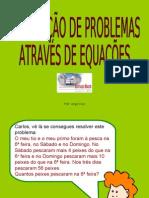 Resolução de Problemas com Equações