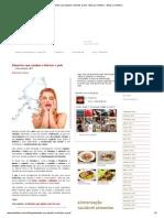 Alimentos Que Ajudam a Hidratar a Pele - Blog La Violetera - Blog La Violetera