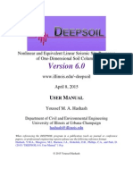 Deepsoil User Manual v6