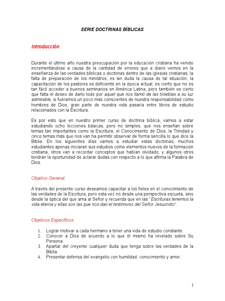Mercado Doctrina B Blica Libro I