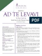 01_AdTeLevavi (Advent 1)