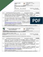 Plan de Mejoramiento - Filosofía 10 - 11 IV Período 2015