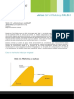 Web 2.0 Marketing o Realidad