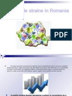 Investitii Straine in Romania 2