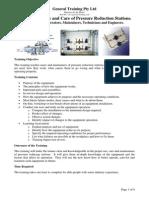 PGT004 Pressure Reduction Stn Training