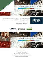 Apresentacao Salvador-plano Municipal de Cultura de Vitoria