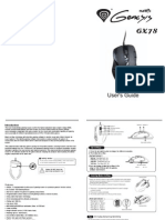 GX78 mouse manual