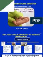 Perawatan Kaki Diabetes -Bpjs 2015-Fabiola
