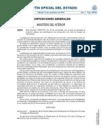RD 1053/2015, por el que se aprueba la Directriz básica de planificación de protección civil ante el riesgo de maremotos