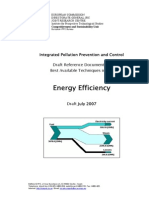 DRAFT BREF Energy Efficiency Techniques En