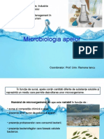 Microbiologia apelor