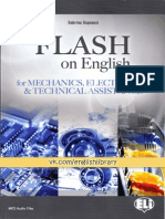 Flash on English for Mechanics, Electronics and Technical Assistance