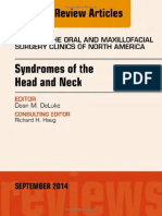Syndromes of the Head and Neck - An Issue of Atlas of the Oral & Maxillofacial Surgery Clinics [the Clinics -Dentistry][2014][UnitedVRG]
