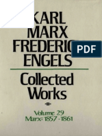 Marx Engels Collected Works Volume 29 m Karl Marx