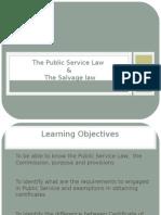 The Public Service Law