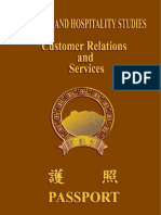 Customer Relations and services
