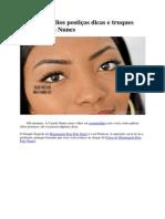 Aplicando Cílios Postiços Dicas e Truques Com Camila Nunes