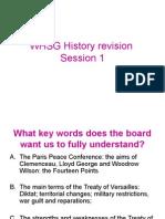 History revision treaty of versailles