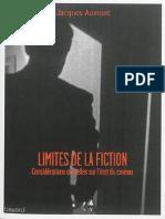 Jacques Aumont Limites de La Fiction Par