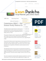 National Judicial Appointments Commission (NJAC) - Political Science Study Material & Notes.pdf