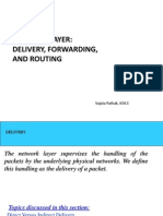 Network Layer -Routing