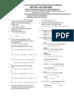 Simulasi Uas Semester 3 (Matriks Dan Ruang Vektor)