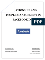 Facebook Report on Organisation Behaviour