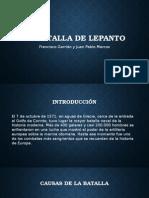 La Batalla de Lepanto, exposición
