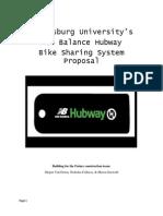 New Balance Hubway System Proposal
