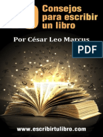 Diez Consejos Para Esribir Un Libro 2015