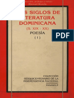Manuel Rueda - Dos Siglos de Literatura Dominicana (S. XIX - XX) Poesía I