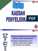kuliah 12  Analisis deskriptif dan inferensi.ppt