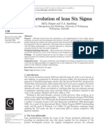 La Evolucion Lean Six Sigma (1)