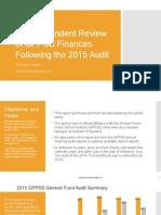 GPPSS 2015 Audit Review