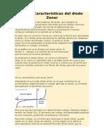 Curva Características Del Dido Zener y Tunnel