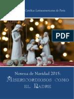 Novena de Navidad 2015 Misericordiosos Como El Padre