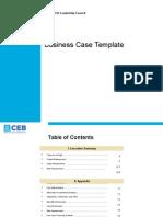 CIO Business Case Template